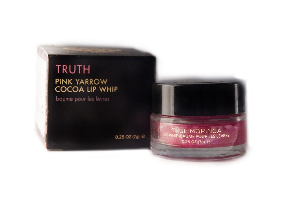 true moringa, lip care, lip treatment, lip tint, pink lip shade