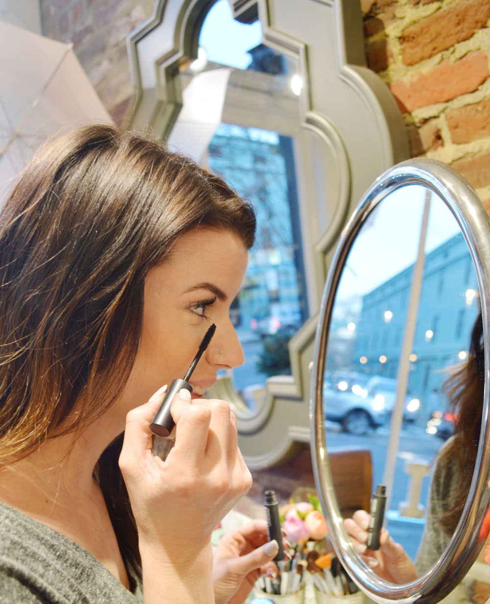 susan posnick mascara, paraben free, cruetly free makeup, mascara,