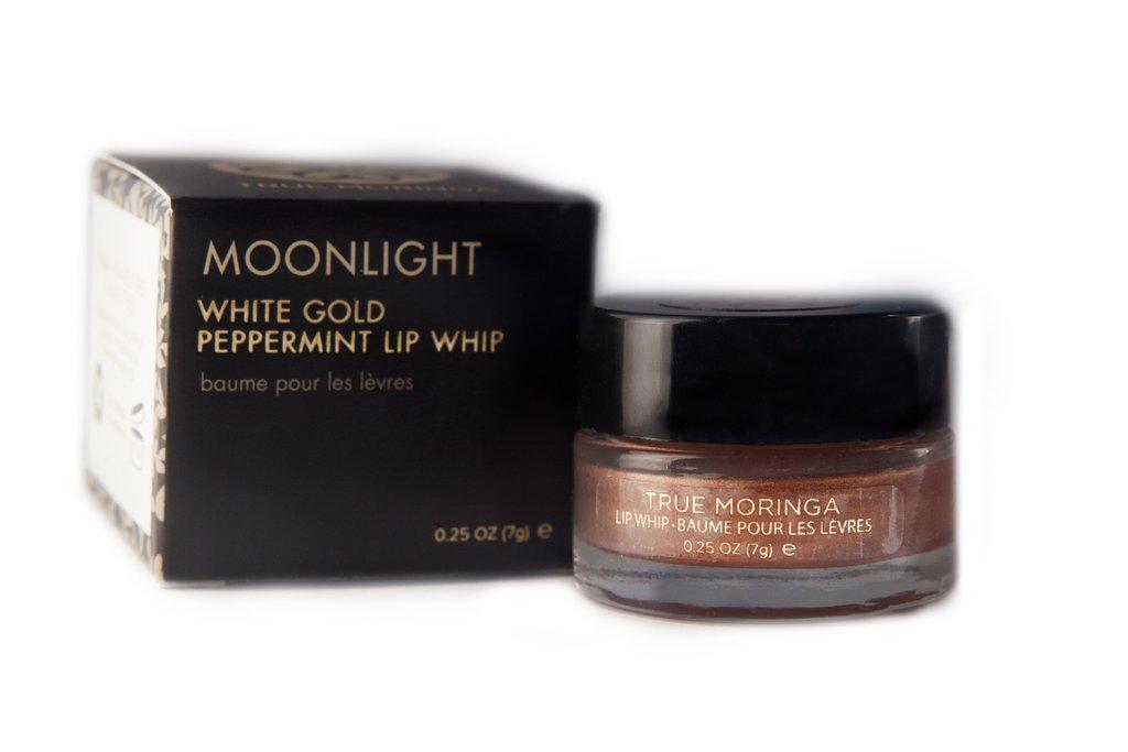true moringa, lip care, lip treatment, lip tint, gold lip shade